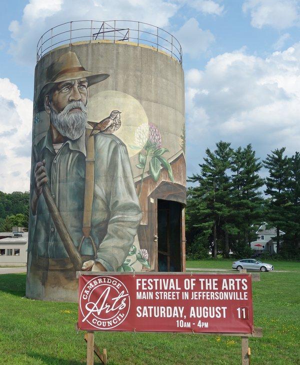 NNE Public Art, Jeffersonville, Vermont