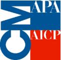 Small APA AICP CM credit logo