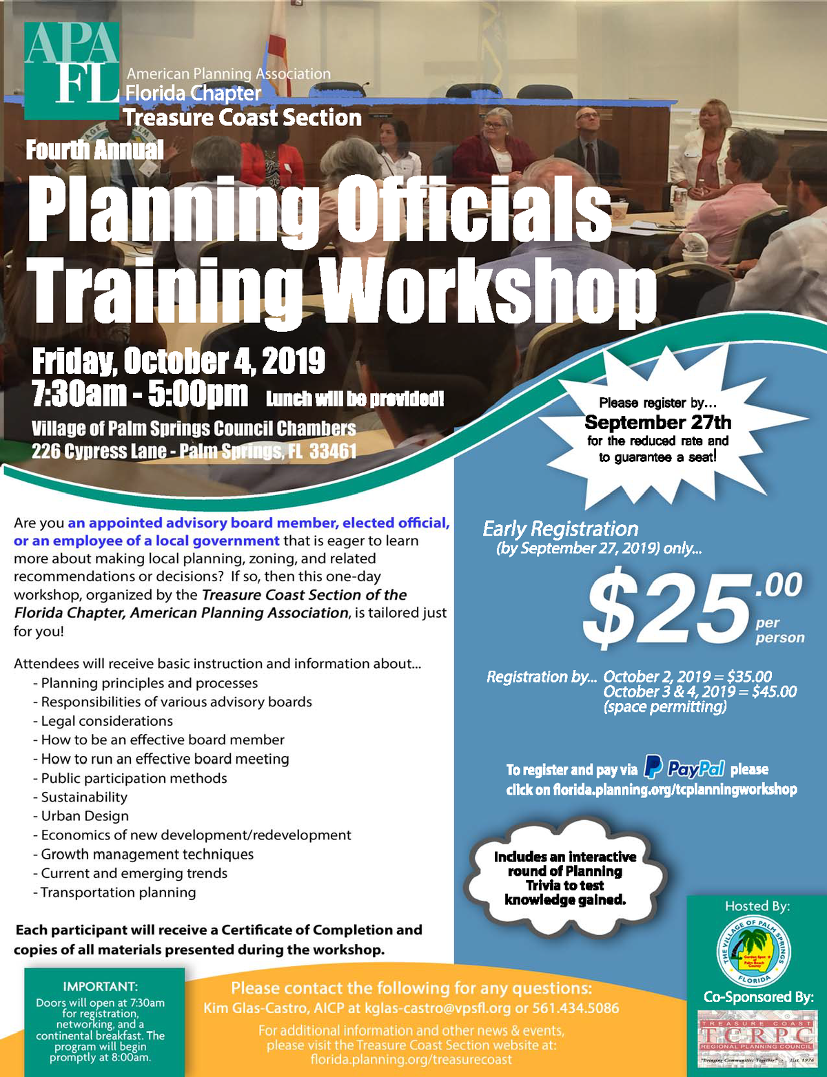 treasure coast section planning officials workshop 2019 flier