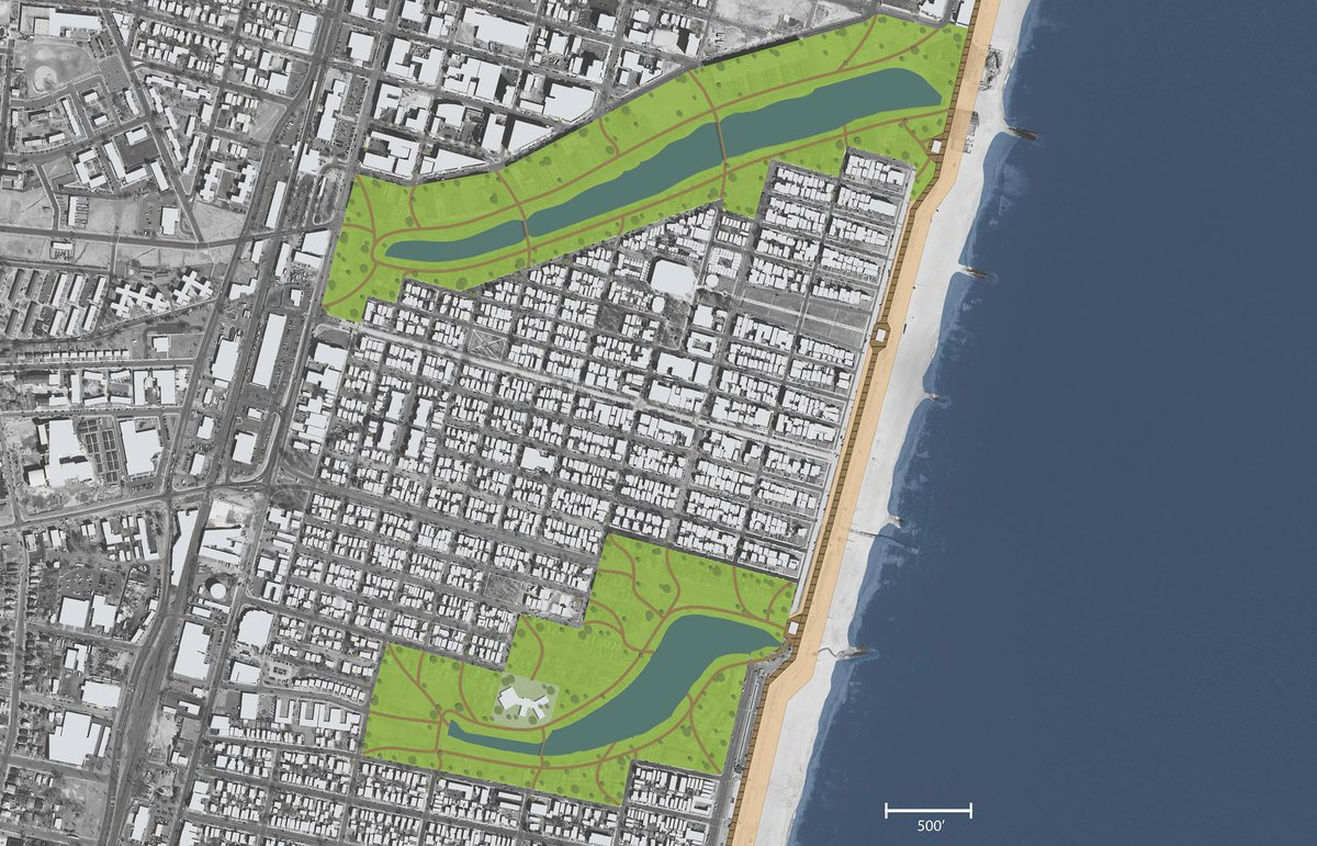 Urban Parks and Street Grid