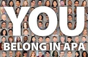 You Belong in APA