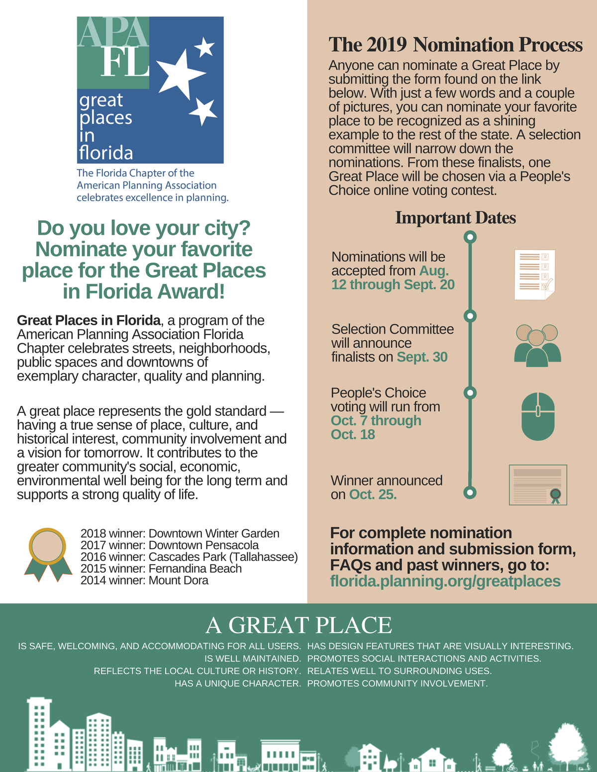 great places in florida flier