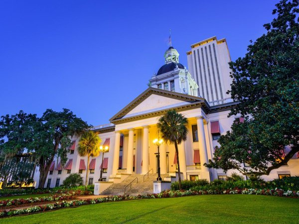 Picture of the Florida Capital