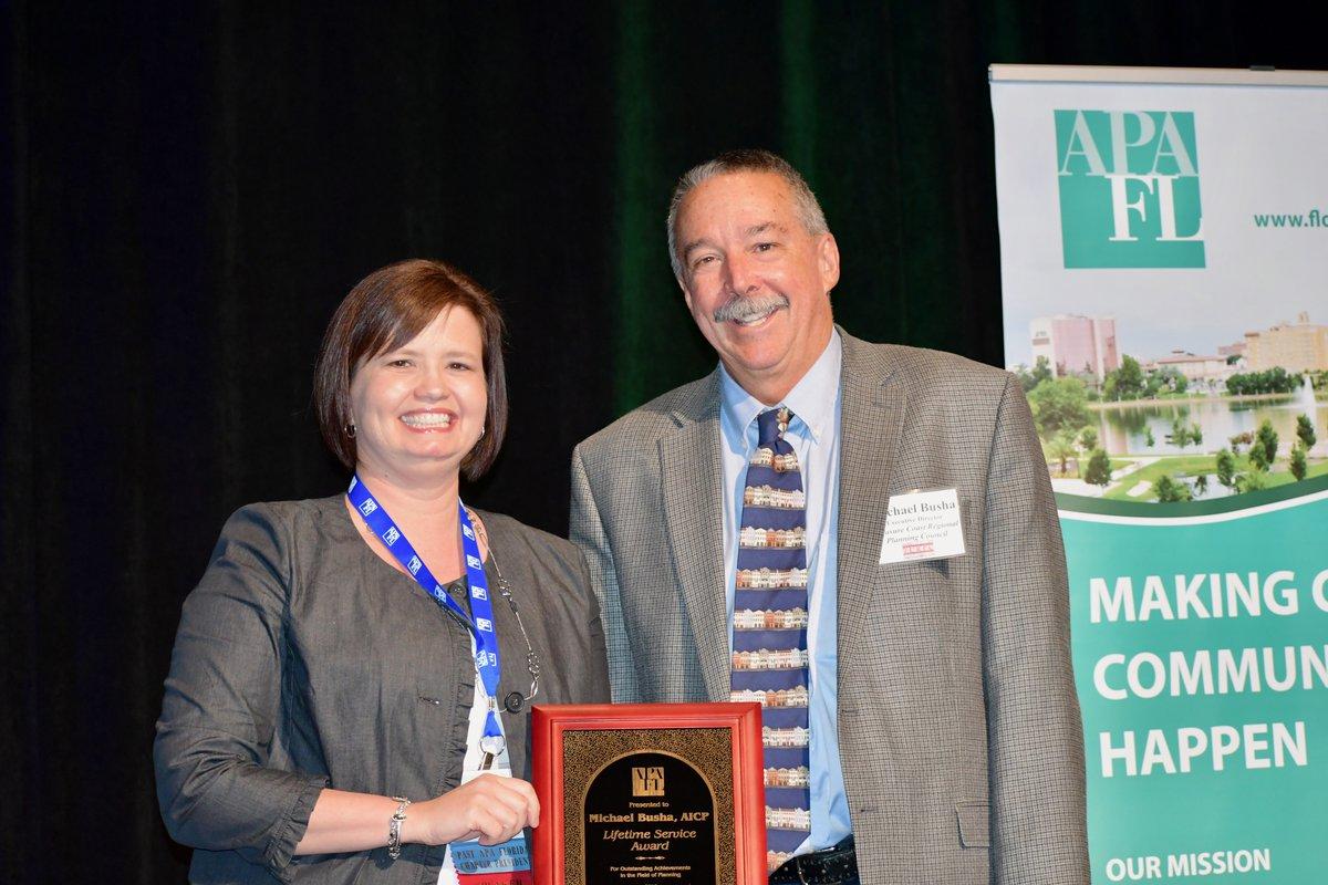 2018 Chapter Leadership Award: Michael Busha