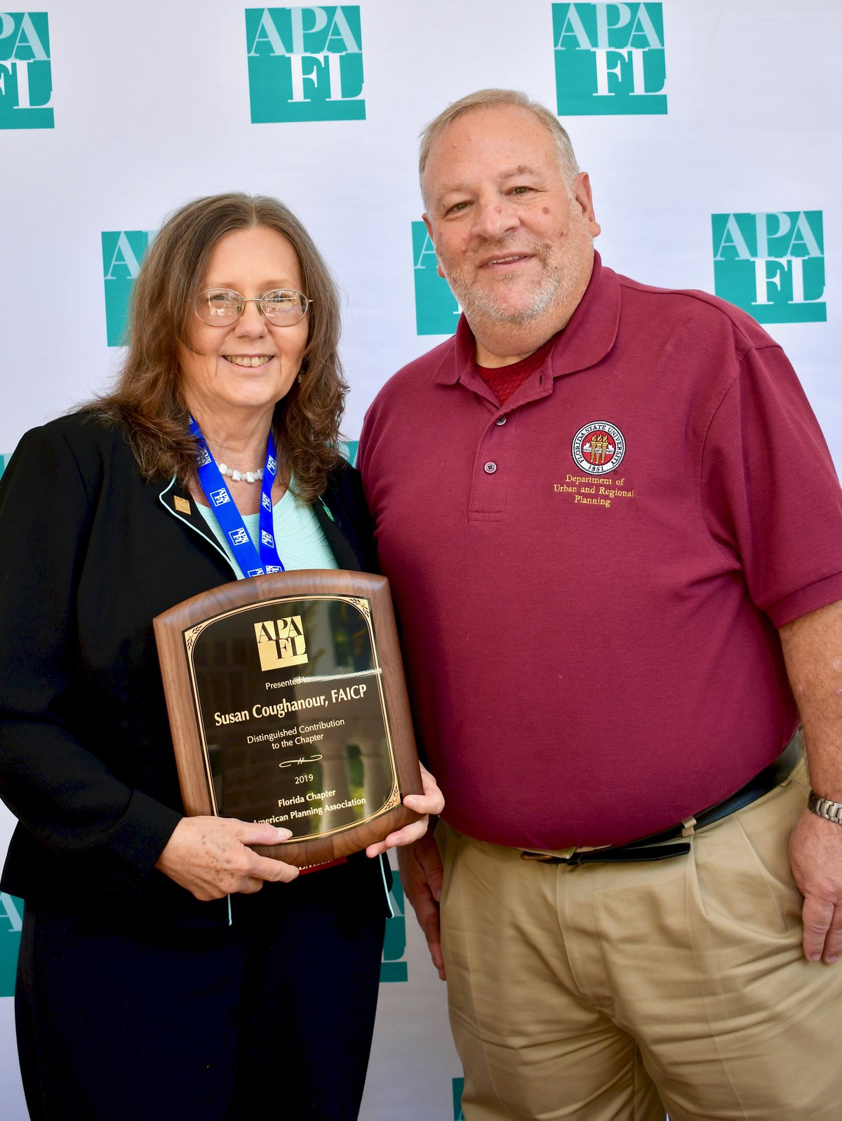 Susan Coughnaour FAICP 2019 Chapter Service Award