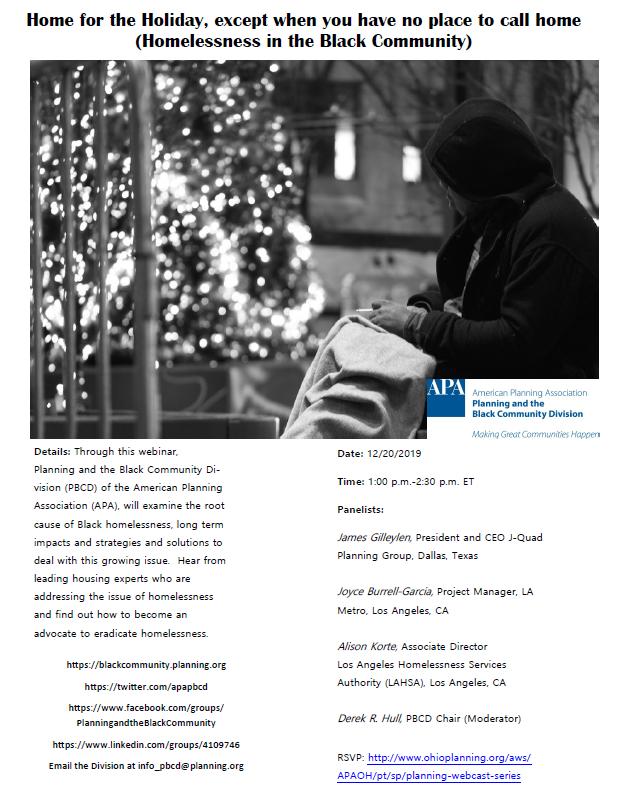 Homeless flyer