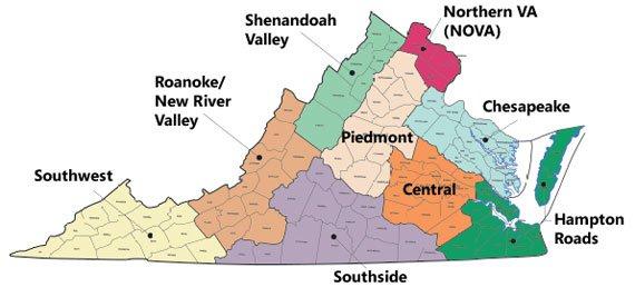 APA Virginia Sections