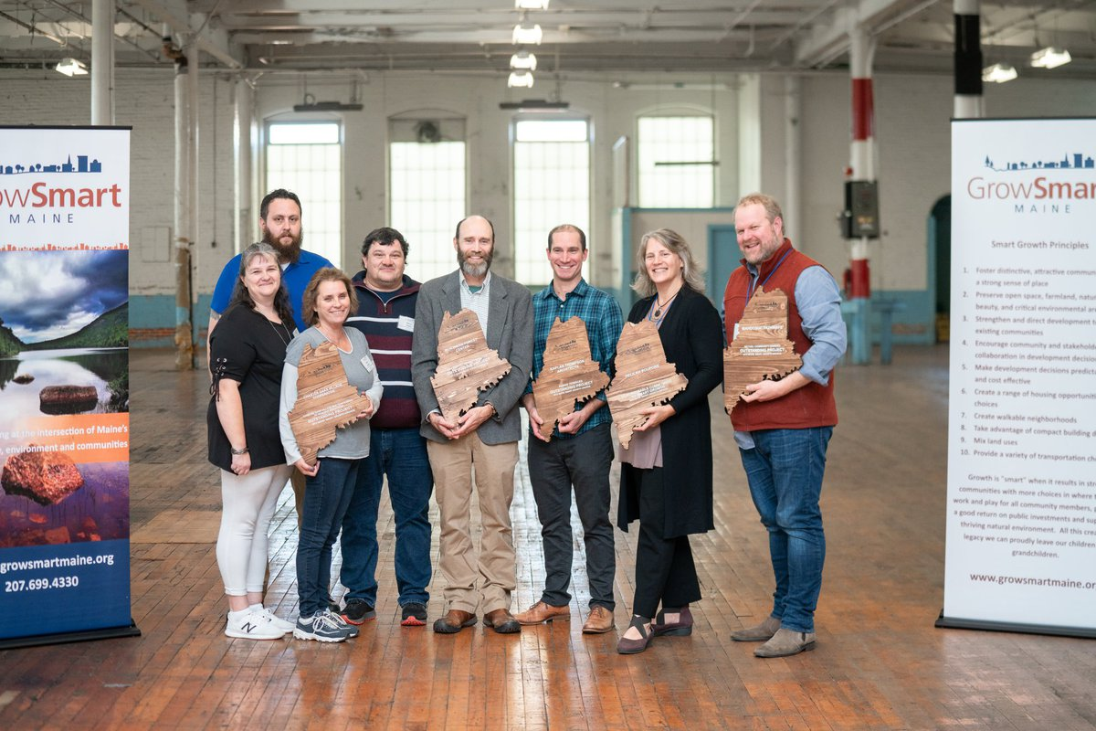 GrowSmart Maine 2019 Smart Growth Award Recipients