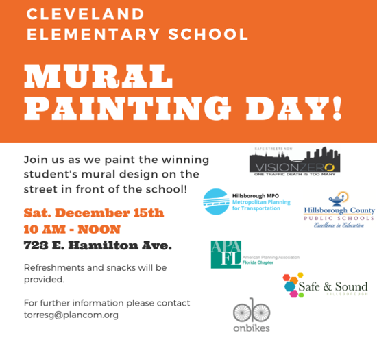 sun coast section mural painting day