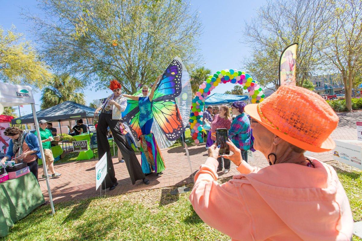 Downtown Winter Haven - park festival